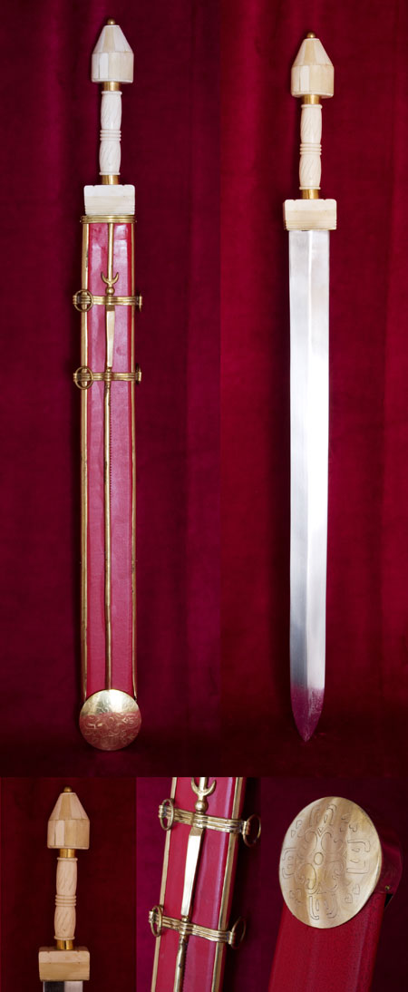Roman Spatha cava sword  type Straubing  3rd ct Roman Spatha