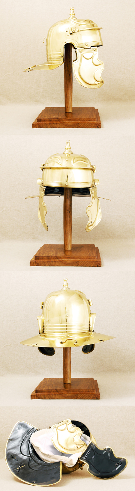 Roman legion helmet (100 AD) for reenactors