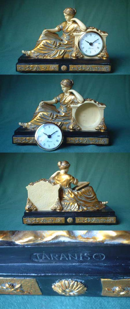 Mantel clock, empire - reproduction