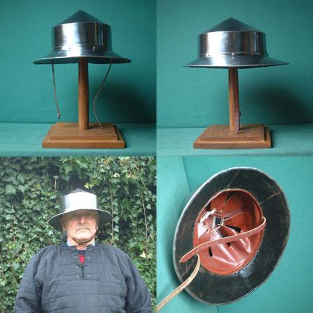 Foundry réédite les figurines Citadel historiques R20A-Y01-16-gauge-chapel-de-fer-kettle-helmet,-for-light-combat