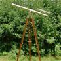 Großes Hafenmeister Teleskop mit Stativ, 40fach