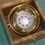 Marine Kompass im Chronometer Holzkasten
