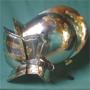 Medieval helmet, 2-parts, ca. 1600