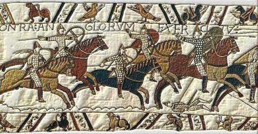 AH3967W Viking  Norman kite shield (Bayeux tapestry)