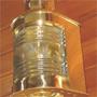 Topplampe, 19. Jhdt., Petroleum - Lampe